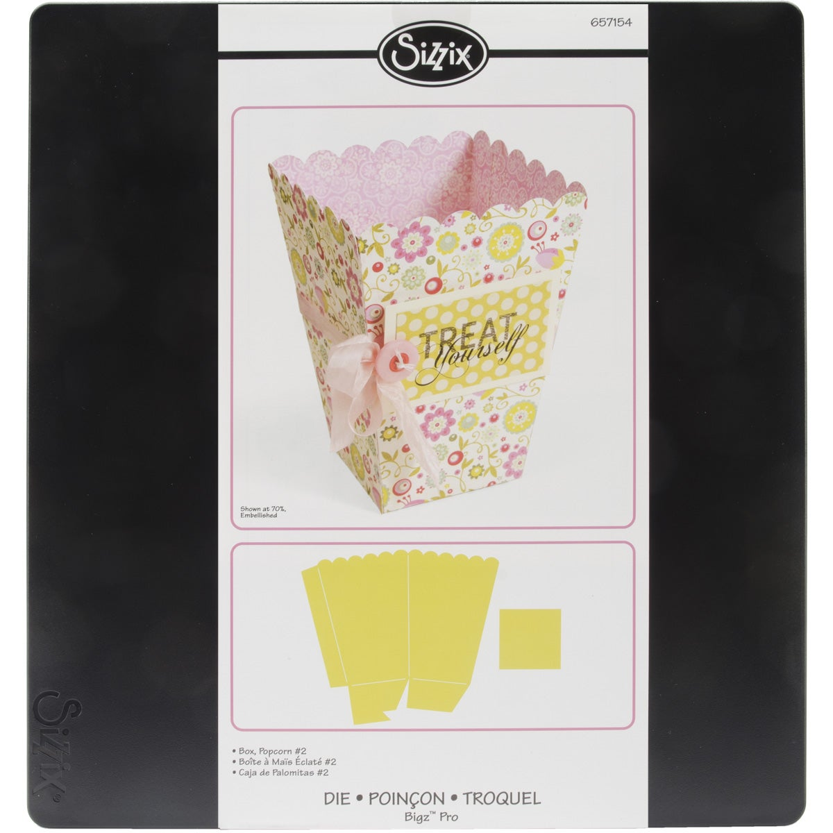 SIZZIX BY ELLISON Sizzix Bigz Big Shot Pro Die-Popcorn #2 Box at Sears.com