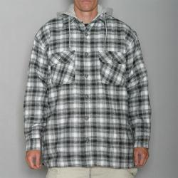 Stillwater Supply Co. Men's Black Flannel Hoody
