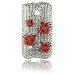 Luxmo Ladybug Rhinestone Case for Huawei Ascend II/ M865