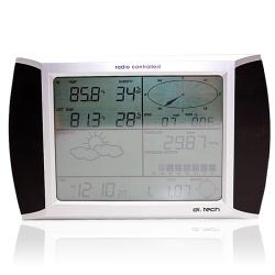 SVP WA1080PC Wireless Touchscreen Weather Station with Solar Powered Outdoor Kit