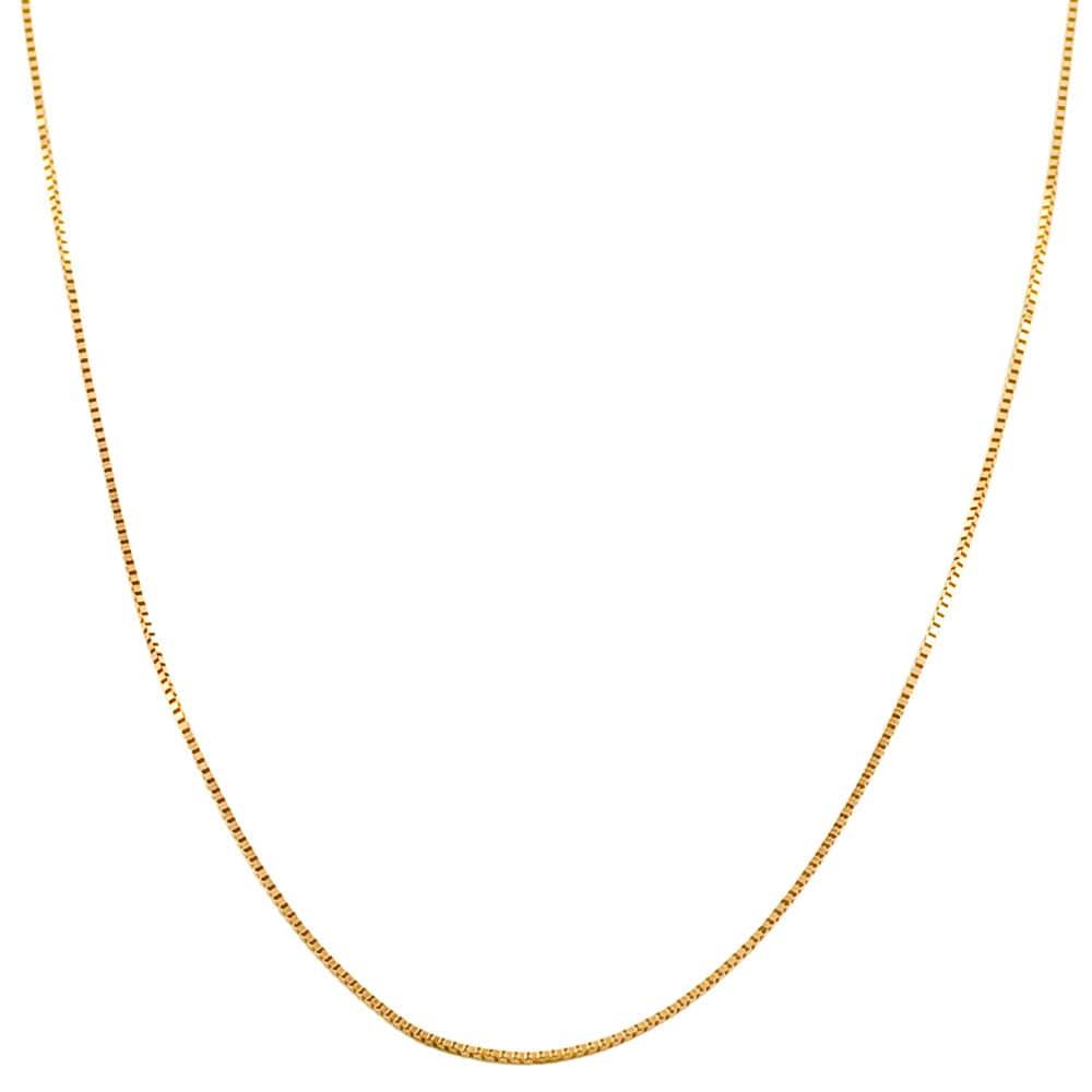 14k rose gold 16 inch venetian box chain 13837186 overstock com