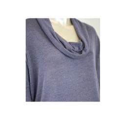 Tabeez Women's Cowl Neck Slouch Sweater