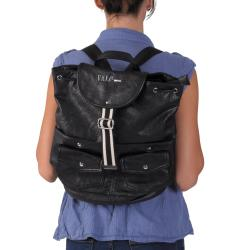 Journee Collection Multi Pocket Drawstring Backpack
