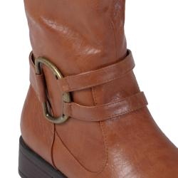 Journee Collection Women's 'Charming-01' Ring Accent Tall Boots
