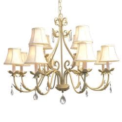 Woodbridge Lighting Alexandria 12-light Washed Gold Chandelier