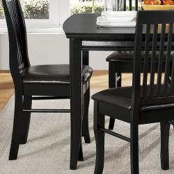 Oscar Black 5-piece Dining Set