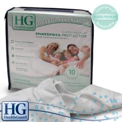 HealthGuard Bed Protector Super Premium Queen-size Mattress Protector