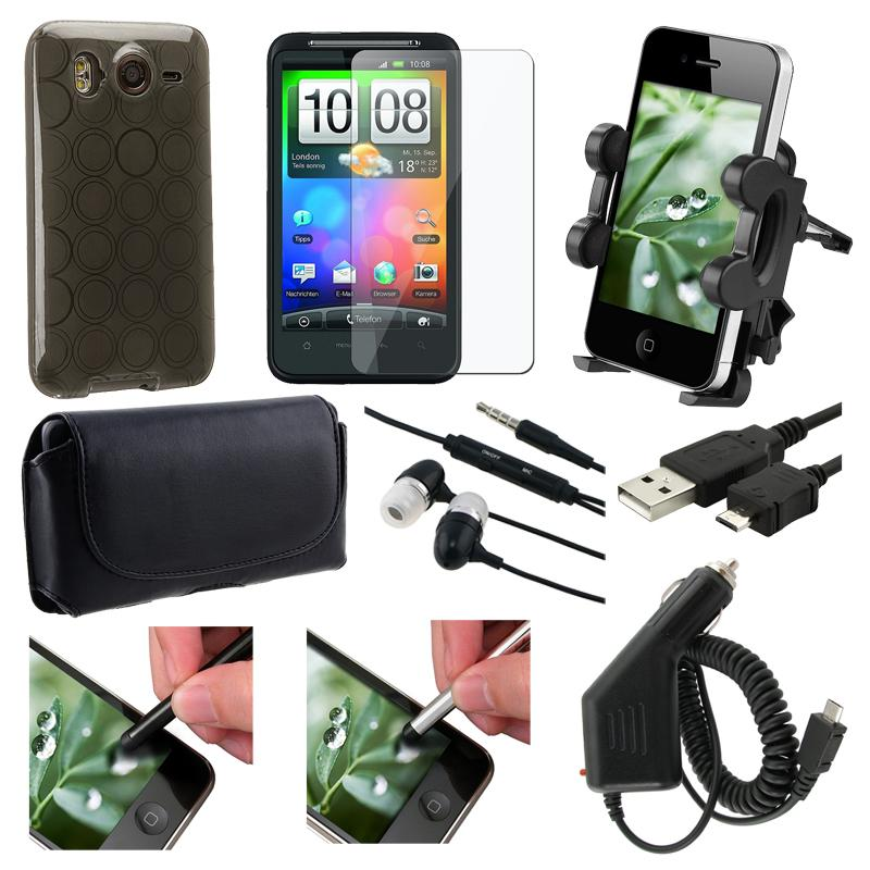 Case/ Protector/ Charger/ Stylus/ Headset/ USB Cable for HTC Desire HD