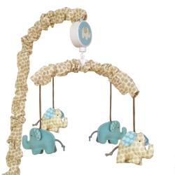 Sumersault Spotted Ellie 8-piece Crib Bedding Set