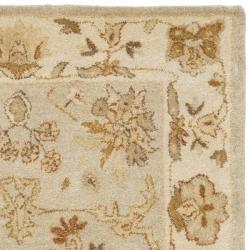 Safavieh Handmade Farahan Light Blue/ Ivory Hand-spun Wool Rug (3' x 5')