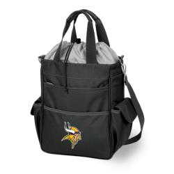Picnic Time Activo-Tote Black (Minnesota Vikings)
