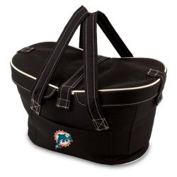 Picnic Time Miami Dolphins Mercado Cooler Basket