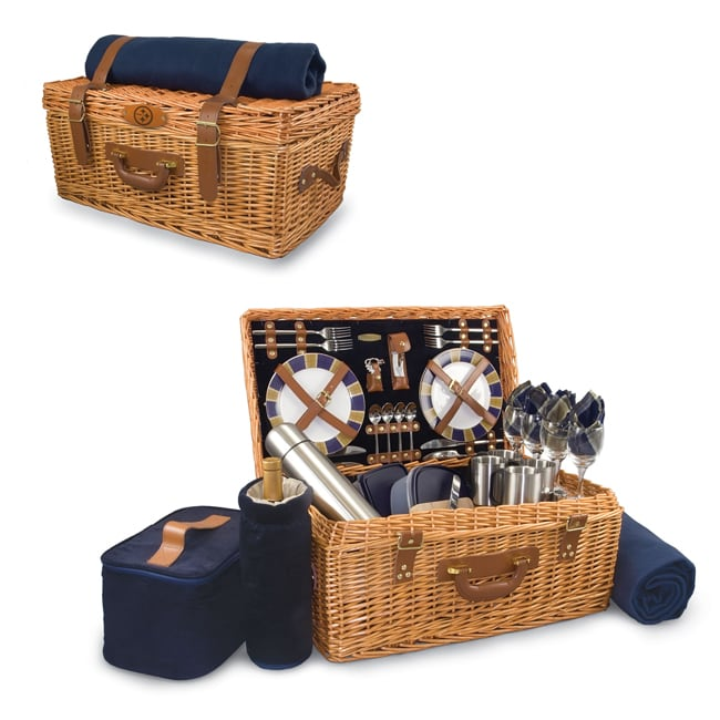Picnic Time Pittsburgh Steelers Windsor Picnic Basket Set