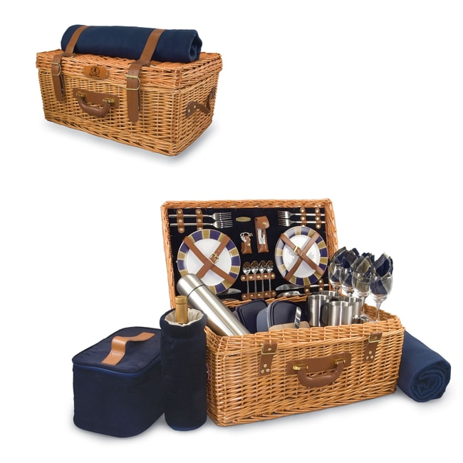 Navy Washington Redskins Windsor Picnic Basket