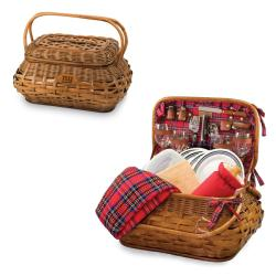 Picnic Time New York Giants Red Tartan Picnic Set