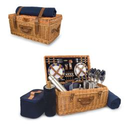 Picnic Time Navy St. Louis Rams Windsor Picnic Basket