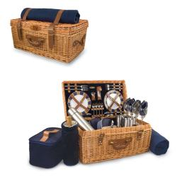 Picnic Time Navy New York Giants Windsor Picnic Basket