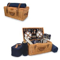 Picnic Time Navy Minnesota Vikings Windsor Picnic Basket