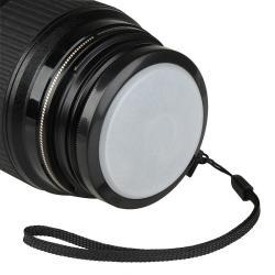 Camera Lens Hood/ White Balance Filter for Canon Rebel T3i X5
