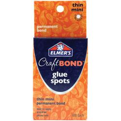 Elmer's Craft Bond Thin Mini Glue Spots (Pack of 300)