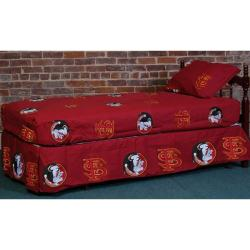 Red Florida State University Seminoles Sheet Set
