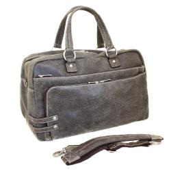 The Jones Collection Distressed Leather Duffel Bag