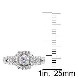 Miadora 14k White Gold 1ct TDW Diamond  Ring (G-H, I2-I3)