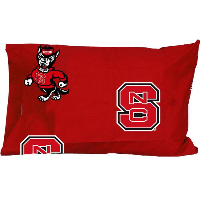 North Carolina State University Wolfpack Pillowcase