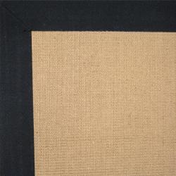 Euphrates Natural Tan Jute Micro Boucle Rug (5' x 8')