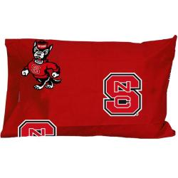 North Carolina State University Wolfpack Pillowcase