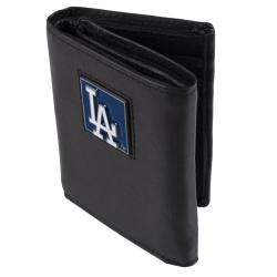 Los Angeles Dodgers Men's MLB Genuine Leather Tri-Fold Wallet