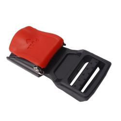 Red Buckle Motorcycle Helmet Speed Clip Chin Strap