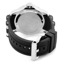 Invicta Men's 'Pro Diver' GMT Black Polyurethane Watch