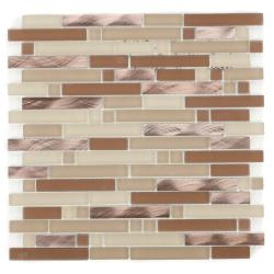 ICL Glass and Metal Mix Tiles (Pack of 11)