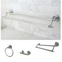 Chrome 3-piece Bathroom Accessory Set