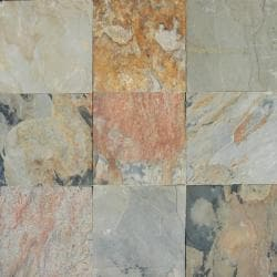 Autumn 12x12-inch Slate Tiles (Pack of 10)