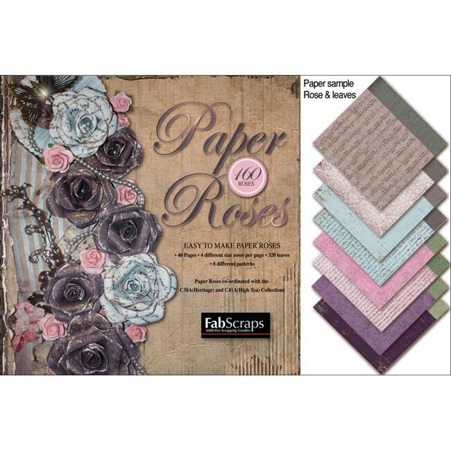 Fabscraps Paper Roses Die-Cut Pad