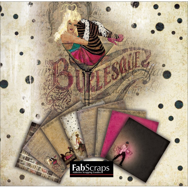 Burlesque Mini Paper Collection Booklet