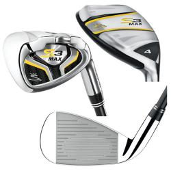 Cobra Men's S3 Max Hybrid/ Iron Combo Set with graphite shaft