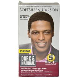 Dark & Natural Men's Natural Black Permanent Hair Color