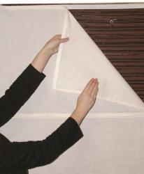 White Privacy Liner (23 in. x 72 in.)