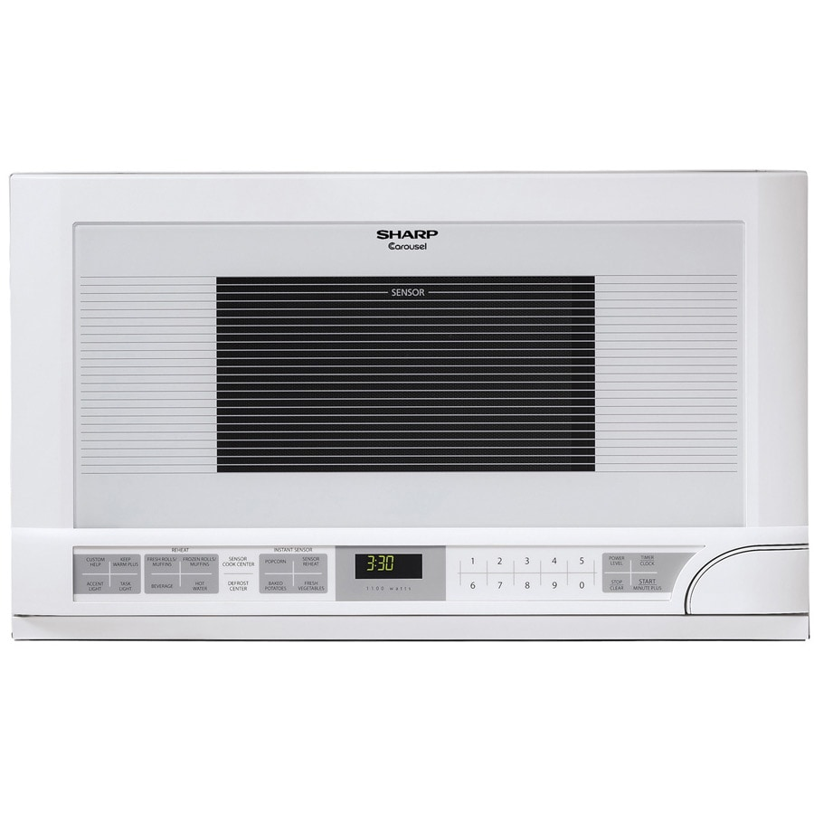 Overstock.com Sharp R1211T 1.5-cu-ft 1100-watt Over-the-counter Microwave at Sears.com