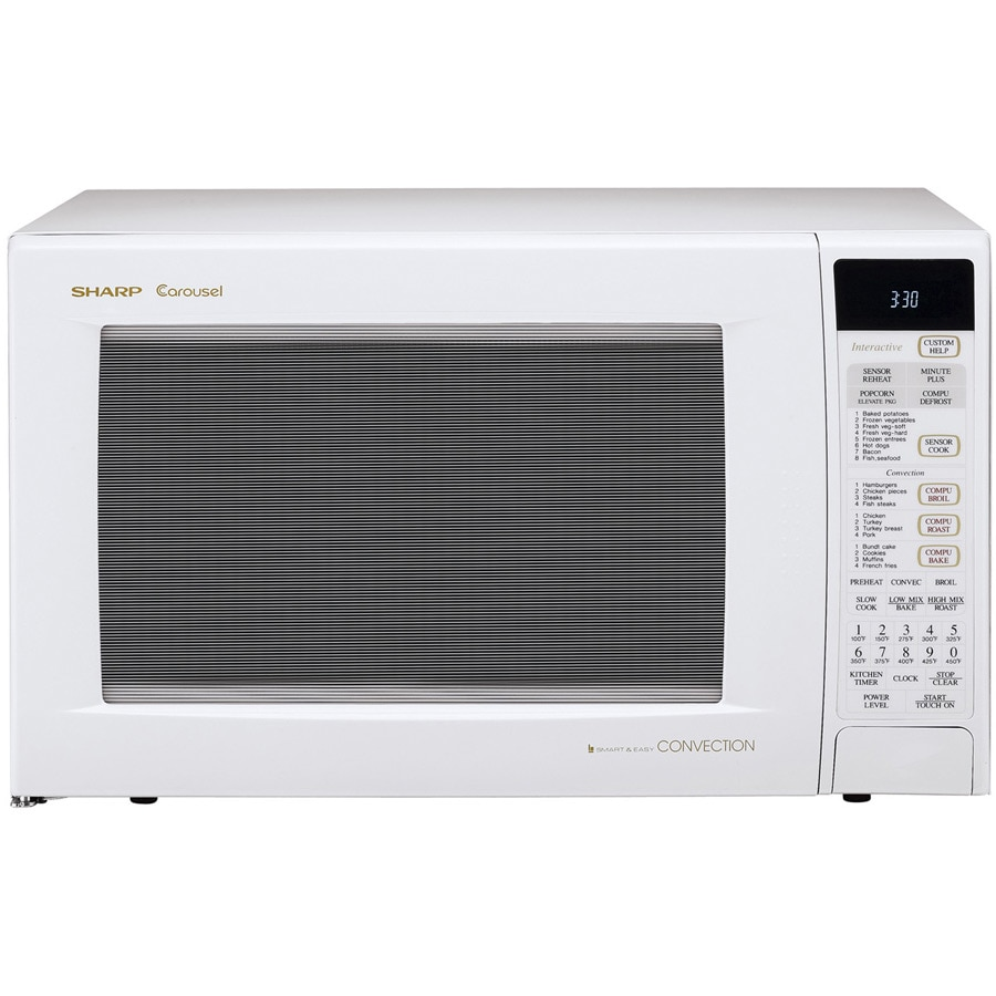 Overstock.com Sharp R930AW 1.5-cu-ft 900-watt Convection Microwave at Sears.com