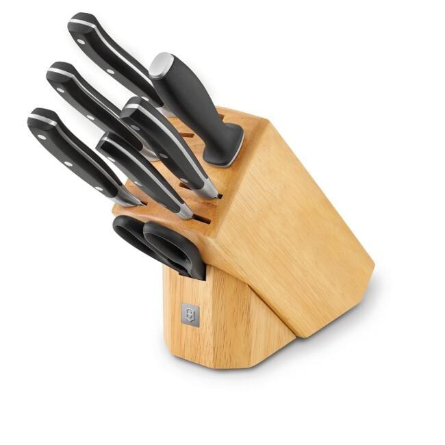 victorinox 7 piece knife block set 13867463 overstock