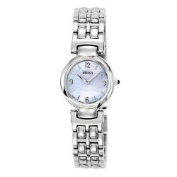 Seiko Women's Stainless Steel Mother of Pearl Watch