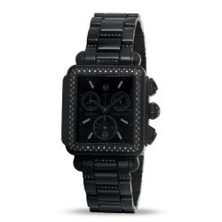 Michele Women's Deco Diamond Noir Watch