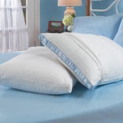 230 Thread Count Cotton Pillow Protector with Gusset (Set of 4)