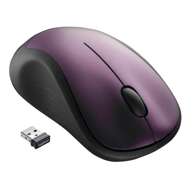 Logitech M310 Purple Wireless Mouse (Refurbished)