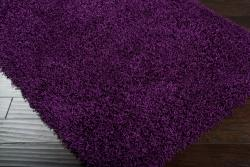 Expertly Woven Flin Purple Super Soft Shag Rug (8' x 10')