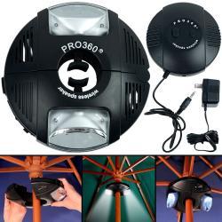 Pro 360 Wireless Umbrella Speaker System with LED Lights